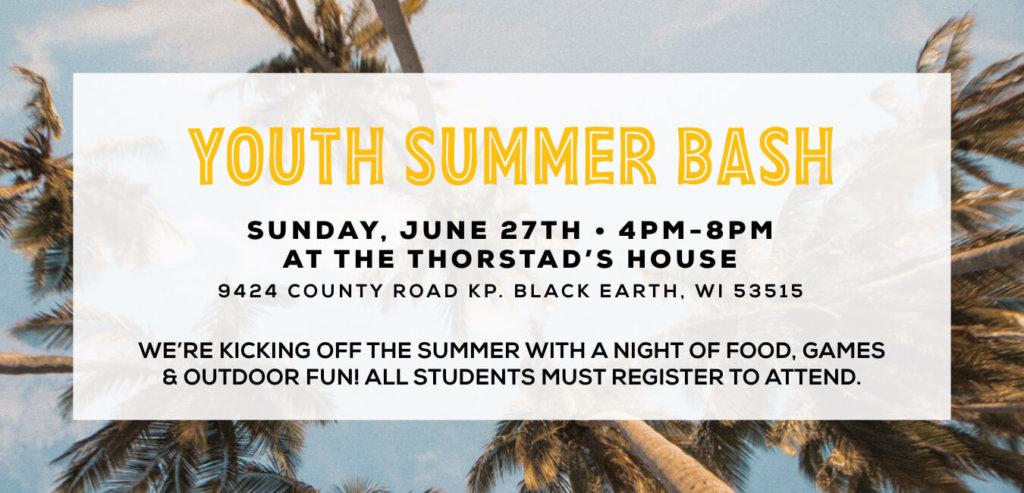 Youth Summer Bash
